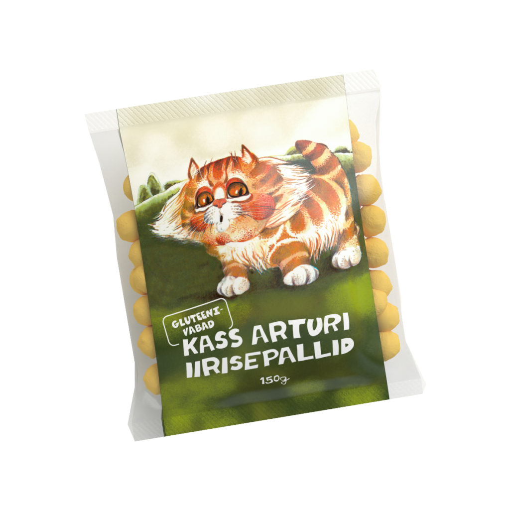 Kass Arturi iirisepallid 150g
