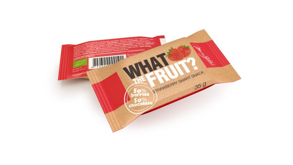 What The Fruit, maasika 35g BIO