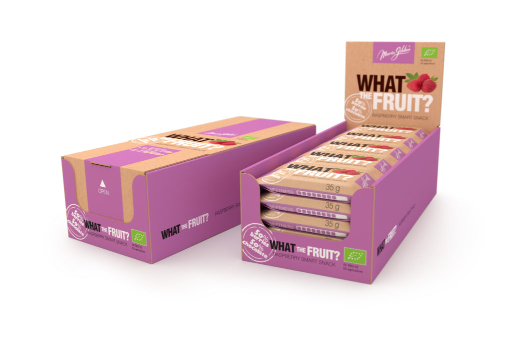 What The Fruit, vaarika 35g BIO