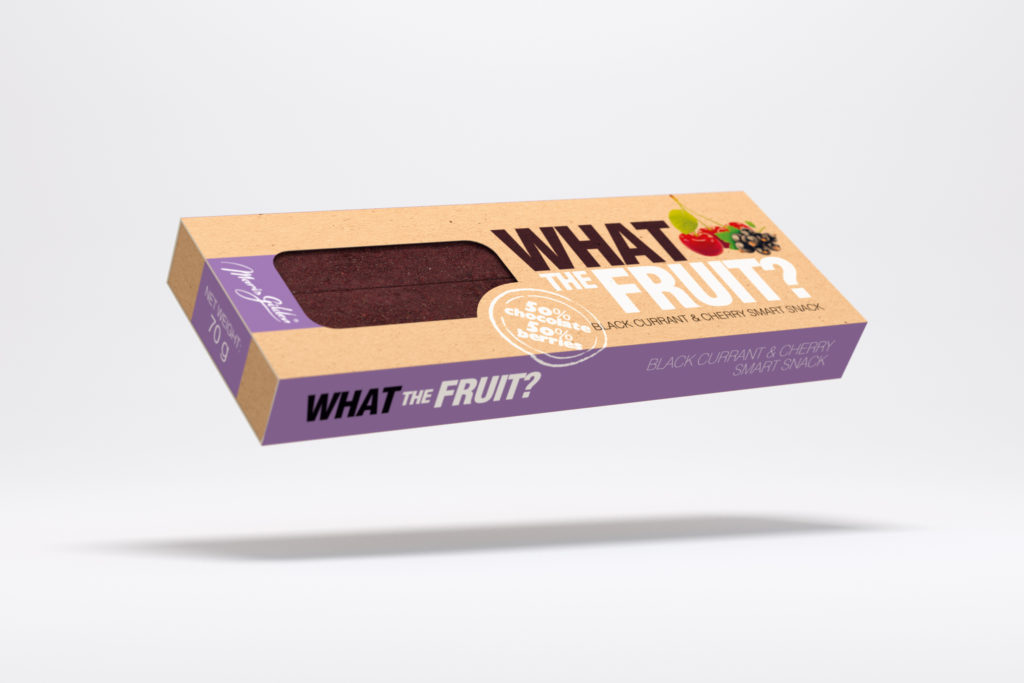 What The Fruit, Mustsõstra-kirsi 70g BIO