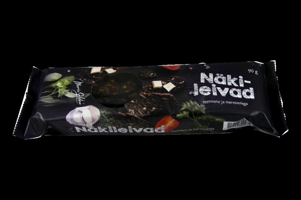 Näkileivad seemnete ja meresoolaga 90g